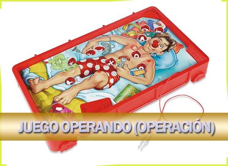 Juego operando (operación)
